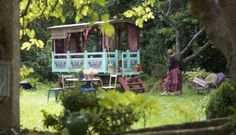 If I were rich...  Roulotte (gypsy caravan) by Jeanne Bayol