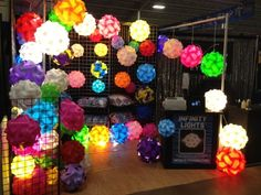 Infinity Lights Gallery. Saw these at Strawberry Fest this weekend. Future kid's room...for sure. LMS