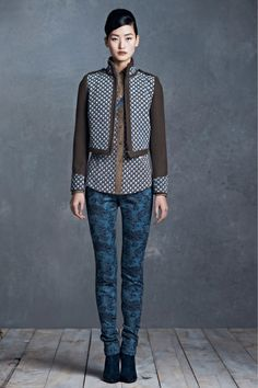 Tory Burch Pre-Fall 2013 Collection Slideshow on Style.com