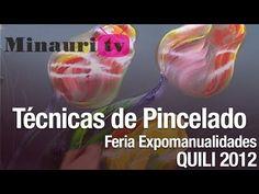▶ DIY Pincelada / One stroke painting by Luz Angela - YouTube