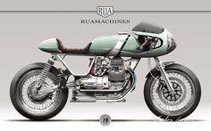 nunocapelo - Moto Guzzi Nevada 750 Design for Rua Machines