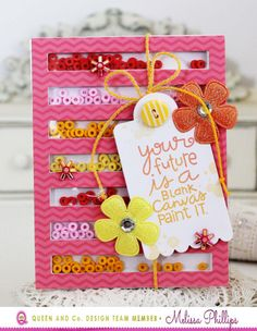 Future card by Melissa Phillips - Paper Smooches - Spreading Sunshine stamp set