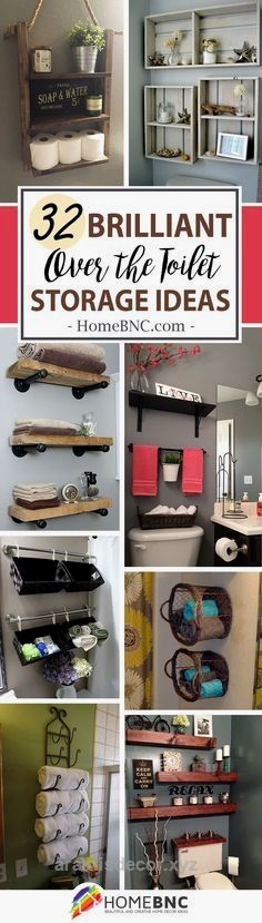 Awesome Over The Toilet Storage Decor Ideas The post Over The Toilet Storage Decor Ideas… appeared first on Aramis Decor .