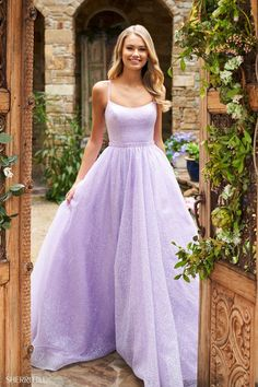 Stunning Prom Dresses, Pretty Prom Dresses, Hoco Dresses, Cute Dresses, Purple Prom Dresses, Lavender Prom Dresses, Light Purple Prom Dress, Dress Prom, Pastel Prom Dress