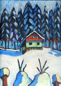 gabrielle munter | Gabriele Munter: German expressionist painter belonging to the Blaue ...