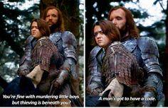 Game of Thrones - Arya Stark & Sandor Clegane