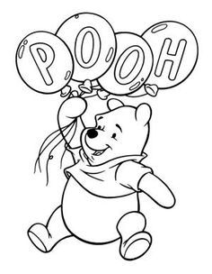 Winnie The Pooh Coloring Pages - Bing Images by deann