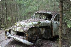 Autofriedhof Bastnäs - car graveyard