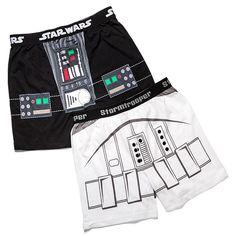 Star Wars Darth Vader and Stormtrooper Boxer Shorts