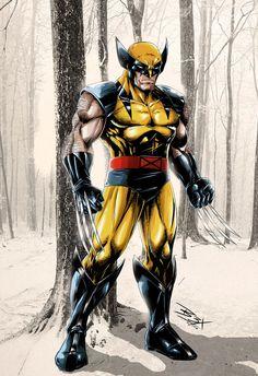 Wolverine Final Colors 2 Net by on DeviantArt Marvel Comics Superheroes, Marvel Xmen, Marvel Comic Universe, Marvel Heroes, Comics Universe, Wolverine Tattoo, Wolverine Art, Wolverine Cosplay, Logan Wolverine