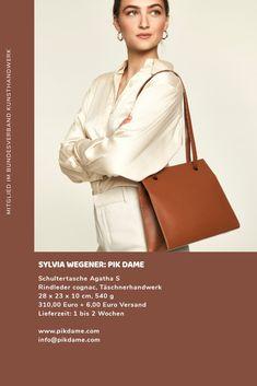 www.pikdame.com / Kunsthandwerk/ Design / Handmade / Luxus/ Leder / Tasche Studio, Bags, Design, Fashion, Arts And Crafts, Luxury, Leather, Handbags, Moda