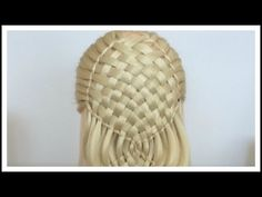 Braid Combo - water fall braid - basket braid - dutch braid - fishtail braid/ Hair Tutorial - YouTube