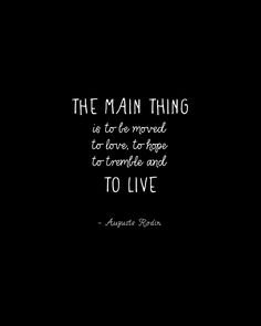 """The main thing """"August Rodin"""" typography by Magpie Paper Works »"""