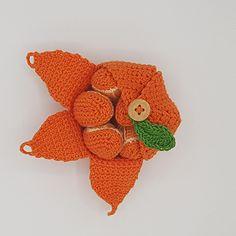 Gratis opskrift på hæklet Appelsin - Karlas appelsin - Rito.dk Baby Barn, Crochet Food, Diy And Crafts, Crochet Earrings, Crochet Patterns, Knitting, Toys, Bomuld, Fruit