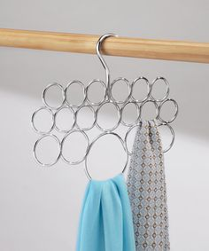 Another great find on #zulily! Steel Axis Scarf Holder #zulilyfinds