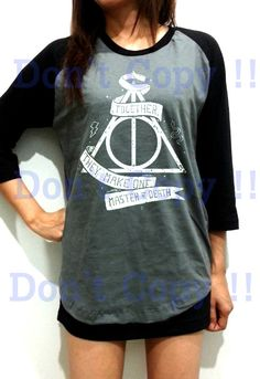 Harry Potter Shirt Deathly Hallows Snake Unisex Men by RainyTee