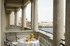 Savoia Excelsior Palace is one of the best luxury hotel in Trieste, Italy, with stunning views on the Gulf near Piazza Unità d'Italia. Book now for best rates! Restaurants, Italy Honeymoon, Superior Room, Trieste, Dream Vacations, Interior Inspiration, Trip Advisor, Palace, Pergola