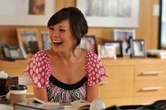 Lindsay Price nel ruolo di Victory Ford nella serie Lipstick Jungle, episodio: Chapter Nine: Help!