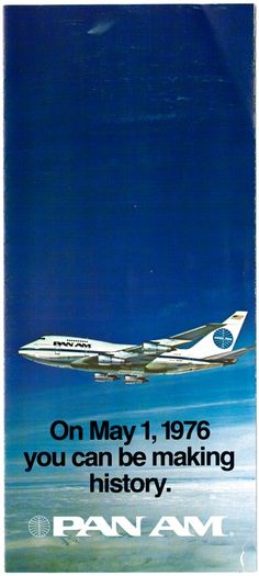 Tokyu Hands Opened their fisrt store in 1976. In the same year Pan Am's Boeing 747SP had direct flight from New York City to Tokyo.