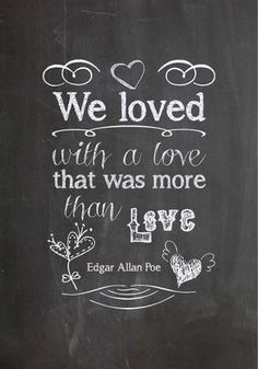 Printable Love Chalkboard print - just in time for Valentine's Day