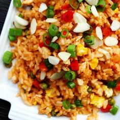Chicken fried rice sweet n sour