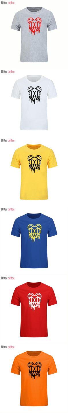 2017 Fashion Radiohead Rock Band Tees Punk Hip Hop Streetwear Summer T-shirts Loose Short sleeve Cotton O-Neck Tops & Tees