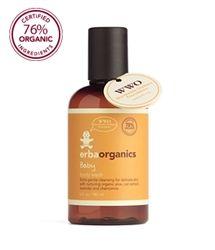 erbaorganics Baby Body Wash - Paraben & SLS free!