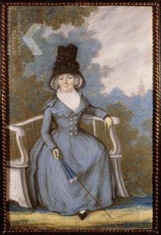 Portrait of Alida Henrica Sophia de Meester ( -1800), 1792, by Rienk Jelgerhuis.