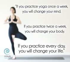Doing a little yoga each day makes a big difference. Join our #Iyengar, #Hatha,  #Vinyasa,  #PrenatalYoga and #YinYoga classes. We are a contemporary, LADIES ONLY, Yoga & Pilates studio located in Motor City, Dubai. Visit our web-site www.naya.ae for our schedule of classes.