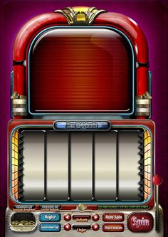 Game design : jukebox slot machine by aaron thai, via behance