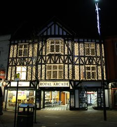The Royal Arcade in Wigan wanted to really stand out last Christmas so we suggested a curtain light to fit the front of the building. It looked fab!