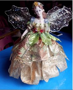 DIY como vestir y decorar HADA elegante fácil decoración navideña
