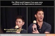 Omg imagine Misha.