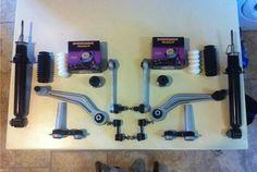 Rear Suspension Rebuild Kit $300