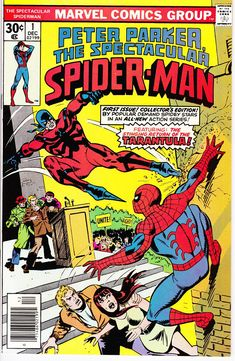 Peter Parker: The Spectacular Spider Man #1 (1st Series 1976) December 1976    Marvel Comics  Grade NM