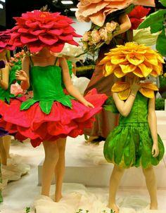 Carnaval vestida de flor