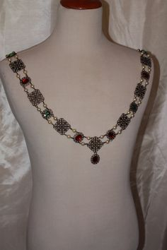 Tudor Chain of Office Livery Collar Madrigal Renaissance Costume