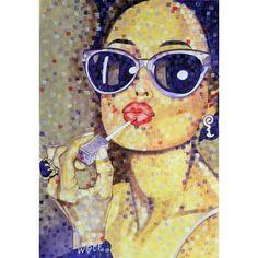 U0027Vanityu0027 (sold Abu Dhabi UAE) Painting By Pixelart By WOLF ❤