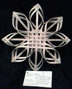 "AUCTION to Benefit JCAPL, Animal Rescue!  Gorgeous Wooden Woven Star: 10"" x 10""- Cathey Purvey, basket artist  Link to view all auction items and place a bid: https://www.facebook.com/media/set/?set=a.10152703514929549.1073741859.74160789548&type=1"
