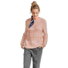 Modell 001/7, Pullover aus Varese von Junghans-Wolle