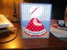 Sun Bonnet Sue Spring Tissue Box Cover