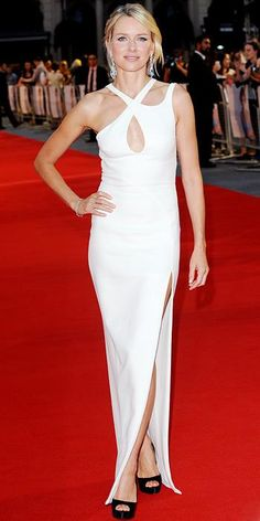 Naomi Watts's Best Red Carpet Looks - In Versace, 2013 from #InStyle