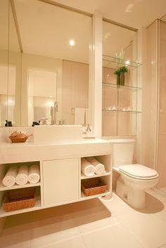 Fui Morar Numa Casinha...: Banheiros: decoração X utilidade