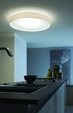 LOVE LOVE LOVE this Lucente Mirya Ceiling light for our kitchen.