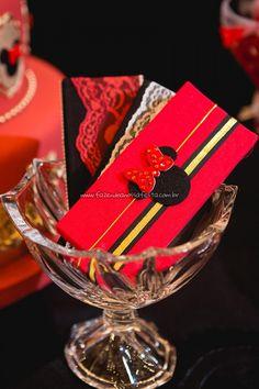 Chocolates 2 Festa Minnie Vermelha da Maria Clara