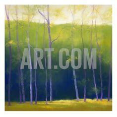 Summer Leaves Art Print by Teri Jonas at Art.com