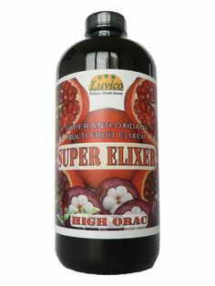 Luvico super elixer. A superb exotic fruit concentrate to maintain your health. It's contains whole fruit of Mangosteen, Acai, Goji, Blueberries, Pomegranate, blackcurrant, grape, aloe vera, rapsberries, strawberries, cranberries and more. With MSM, Glucosamin and Chondroitin for your joints. Plus some Ginseng for extra energy. Over 22,700 Orac (antioxidant power) per 15ml serving.  Interested? take a look at www.luvico.com or luvico.nl