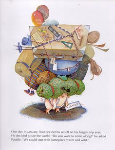 """""""Toot and Puddle"""" by Holly Hobbie"""