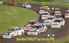 toyota starlet kp61 trd cup cars