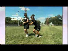 Women's Lacrosse Defensive Body Position